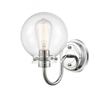 Olivia Bath Vanity Light (3442 437-1W-PC-G4372-LED)