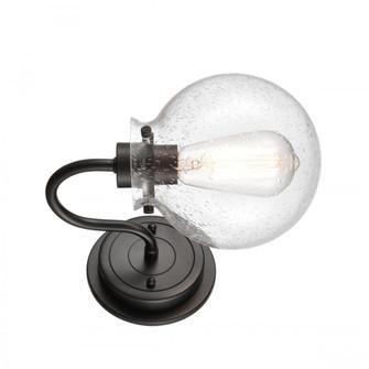 Olivia Bath Vanity Light (3442 437-1W-BK-G4374-LED)