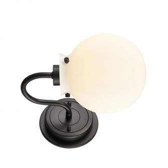 Olivia Bath Vanity Light (3442 437-1W-BK-G4371-LED)