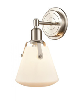 Luna Bath Vanity Light (3442 422-1W-SN-G4221-7-LED)