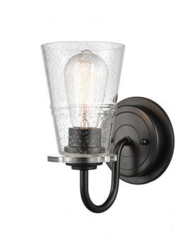 Scarlett Bath Vanity Light (3442 421-1W-BK-G4214-LED)
