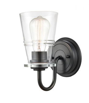 Scarlett Bath Vanity Light (3442 421-1W-BK-G4212-LED)