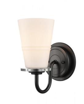 Scarlett Bath Vanity Light (3442 421-1W-BK-G4211-LED)