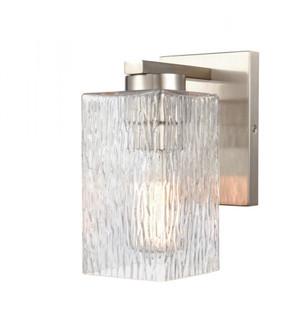 Juneau Bath Vanity Light (3442 419-1W-SN-G4192-LED)
