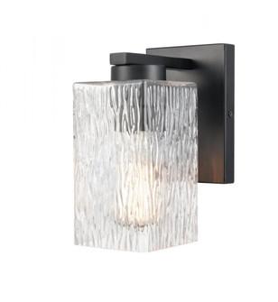 Juneau Bath Vanity Light (3442 419-1W-BK-G4192-LED)