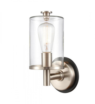 Marlowe Bath Vanity Light (3442 418-1W-BSN-G4182-LED)