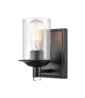 Manhattan Bath Vanity Light (3442 417-1W-BK-G4174-LED)