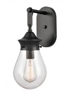 Genesis Bath Vanity Light (3442 414-1W-BK-G4142-6-LED)