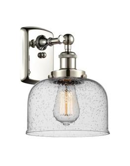 Large Bell 1 Light Sconce (3442|916-1W-PN-G74-LED)