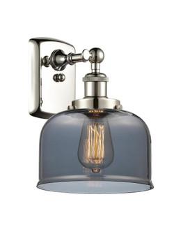 Large Bell 1 Light Sconce (3442|916-1W-PN-G73-LED)
