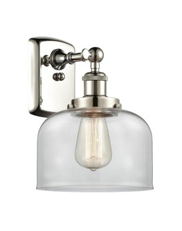 Large Bell 1 Light Sconce (3442|916-1W-PN-G72-LED)