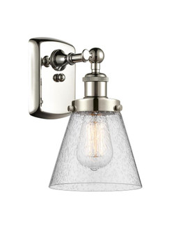 Small Cone 1 Light Sconce (3442|916-1W-PN-G64-LED)