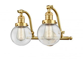 Beacon Bath Vanity Light (3442 515-2W-SG-G202-6-LED)