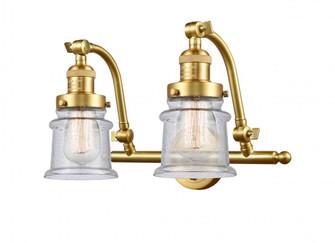 Small Canton 2 Light Bath Vanity Light (3442 515-2W-SG-G184S-LED)