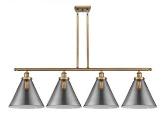 X-Large Cone 4 Light Island Light (3442|916-4I-BB-G43-L-LED)