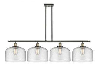 X-Large Bell 4 Light Island Light (3442|916-4I-BAB-G74-L-LED)