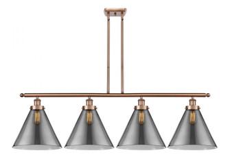X-Large Cone 4 Light Island Light (3442|916-4I-AC-G43-L-LED)