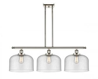 X-Large Bell 3 Light Island Light (3442|916-3I-PN-G74-L-LED)