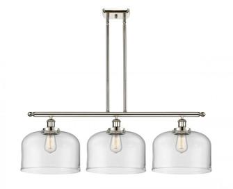 X-Large Bell 3 Light Island Light (3442|916-3I-PN-G72-L-LED)
