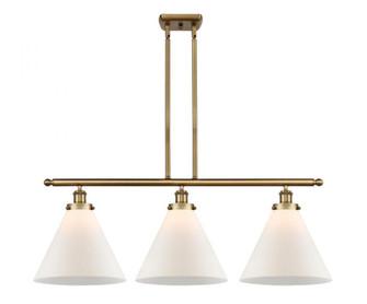 X-Large Cone 3 Light Island Light (3442|916-3I-BB-G41-L-LED)