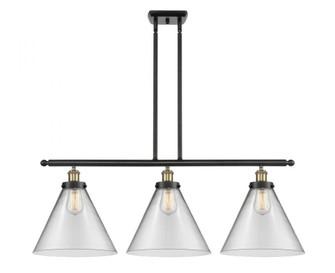X-Large Cone 3 Light Island Light (3442|916-3I-BAB-G42-L-LED)