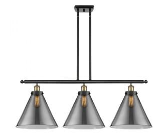 X-Large Cone 3 Light Island Light (3442|916-3I-BAB-G43-L-LED)