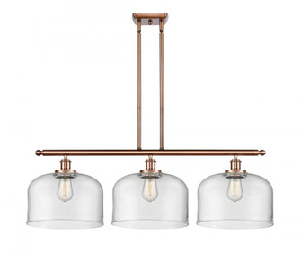 X-Large Bell 3 Light Island Light (3442|916-3I-AC-G72-L-LED)