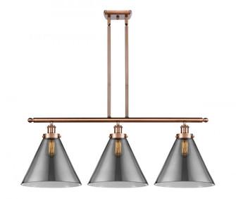 X-Large Cone 3 Light Island Light (3442|916-3I-AC-G43-L-LED)