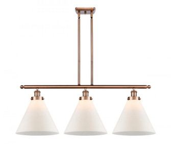 X-Large Cone 3 Light Island Light (3442|916-3I-AC-G41-L-LED)