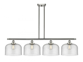 X-Large Bell 4 Light Island Light (3442|916-4I-SN-G74-L-LED)