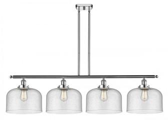 X-Large Bell 4 Light Island Light (3442|916-4I-PC-G74-L-LED)