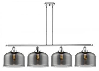 X-Large Bell 4 Light Island Light (3442|916-4I-PC-G73-L-LED)
