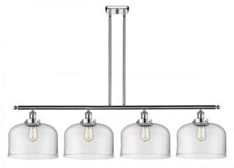 X-Large Bell 4 Light Island Light (3442|916-4I-PC-G72-L-LED)