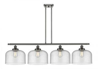 X-Large Bell 4 Light Island Light (3442|916-4I-OB-G74-L-LED)