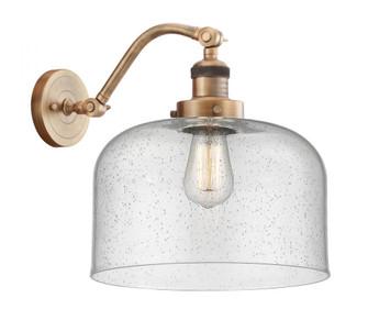 X-Large Bell 1 Light Sconce (3442|515-1W-BB-G74-L-LED)