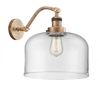 X-Large Bell 1 Light Sconce (3442|515-1W-BB-G72-L-LED)