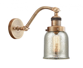 Small Bell 1 Light Sconce (3442|515-1W-BB-G58-LED)