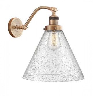 X-Large Cone 1 Light Sconce (3442|515-1W-BB-G44-L-LED)