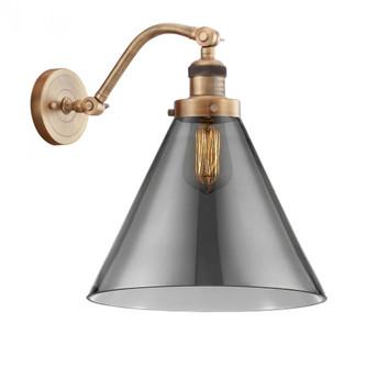 X-Large Cone 1 Light Sconce (3442|515-1W-BB-G43-L-LED)