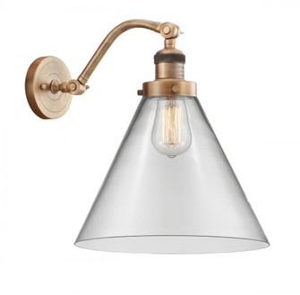 X-Large Cone 1 Light Sconce (3442|515-1W-BB-G42-L-LED)