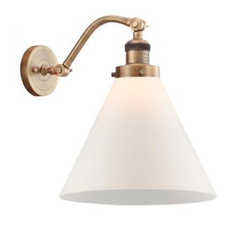 X-Large Cone 1 Light Sconce (3442|515-1W-BB-G41-L-LED)