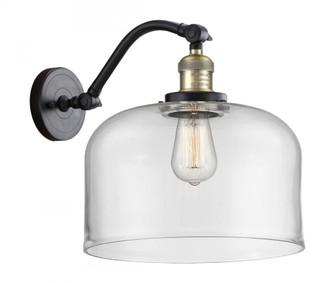 X-Large Bell 1 Light Sconce (3442|515-1W-BAB-G72-L-LED)