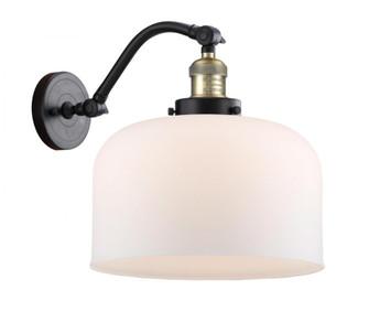 X-Large Bell 1 Light Sconce (3442|515-1W-BAB-G71-L-LED)