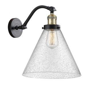 X-Large Cone 1 Light Sconce (3442|515-1W-BAB-G44-L-LED)