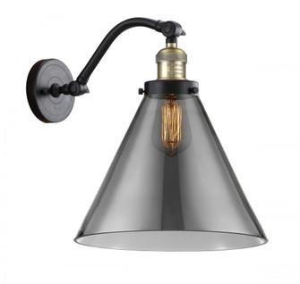 X-Large Cone 1 Light Sconce (3442|515-1W-BAB-G43-L-LED)
