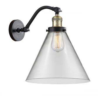 X-Large Cone 1 Light Sconce (3442|515-1W-BAB-G42-L-LED)
