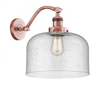 X-Large Bell 1 Light Sconce (3442|515-1W-AC-G74-L-LED)
