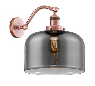 X-Large Bell 1 Light Sconce (3442|515-1W-AC-G73-L-LED)