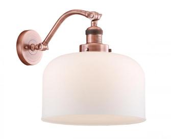 X-Large Bell 1 Light Sconce (3442|515-1W-AC-G71-L-LED)