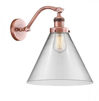 X-Large Cone 1 Light Sconce (3442|515-1W-AC-G42-L-LED)